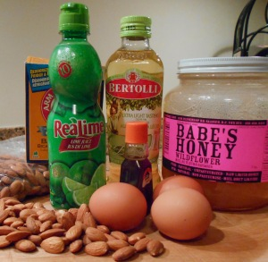 almond muffin ingredients5